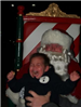 Crying Boy with Santa