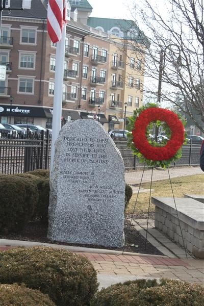 Ben Franklin Fire Memorial Ceremony
