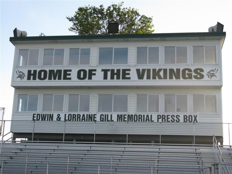 Home of the Vikings Bleachers