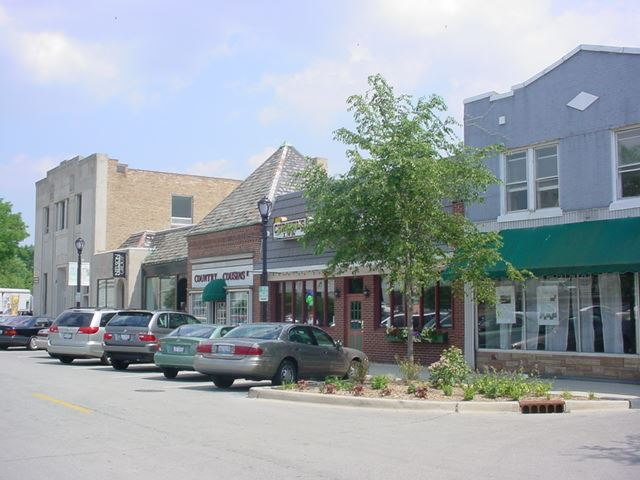 Old Downtown Streetscape